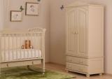 Шкаф детский  2-х створчатый Кубаньлесстрой БИ 01
