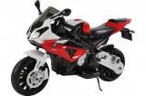 Детский электромобиль мотоцикл BMW S1000PR на аккумуляторе  Jiajia, JT528-red