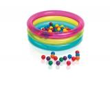 Надувной бассейн с шариками для детей классический 86х25см